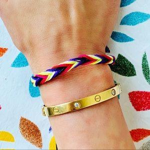 Jewelry - 🌈 Chevron 🌈 Woven Friendship Bracelet